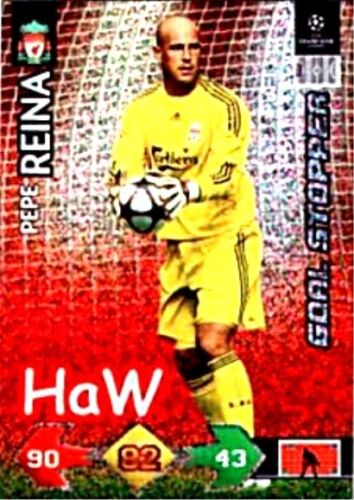 Panini Champions League Super strikes 2009//2010 goal stoppers-Mint
