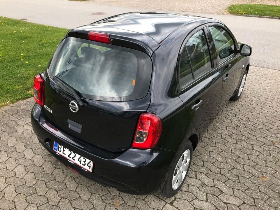 Nissan Micra 1,2 Visia Benzin modelår 2013 km 26000 Sort