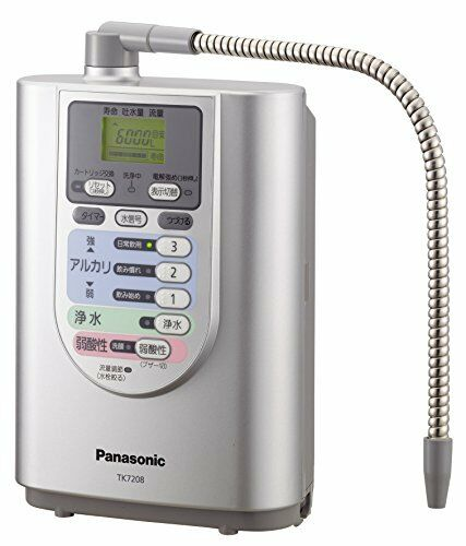 Kc02 Panasonic alkali ion water purifier TK7208P-S Japan New