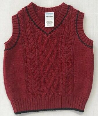 NWT Gymboree Holiday Pictures Red Argyle Sweater 3T