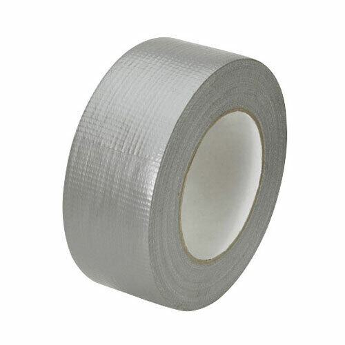 Fabric Tape Duct tape tank tape Stone Tape 50mm x 10m Silver