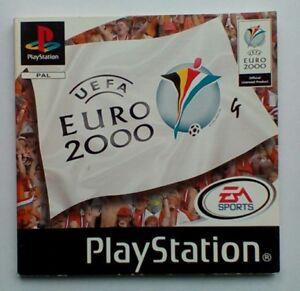 * Instructions Seulement * Uefa Euro 2000 Manuel Ps1 Psone Playstation 1 One-afficher Le Titre D'origine Soulager La Chaleur Et La Soif.