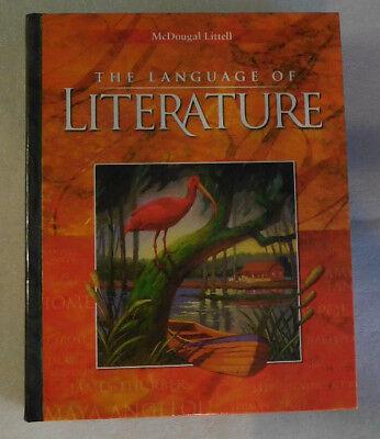 McDougal Littell Language Literature Grade 9 English 2004 HC Student Textbook 9780618170340 EBay