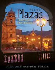 Plazas: Lugar de encuentros (with Audio CD)-ExLibrary