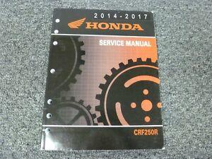 2014 2015 2016 2017 Honda CRF250R Dirt Bike Motorcycle
