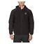 Reebok-Men-039-s-Hybrid-Softshell-Fleece-Hooded-Jacket-Black-Blue-or-Grey miniature 1