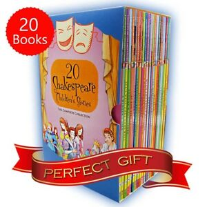 Shakespeare-Childrens-Stories-20-Books-Boxed-Complete-Collection-Pack-Gift-Set