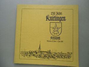 2-Buecher-Buergerverein-Knielingen-1959-1984-1200-Jahre-Festchrift-Karlsruhe