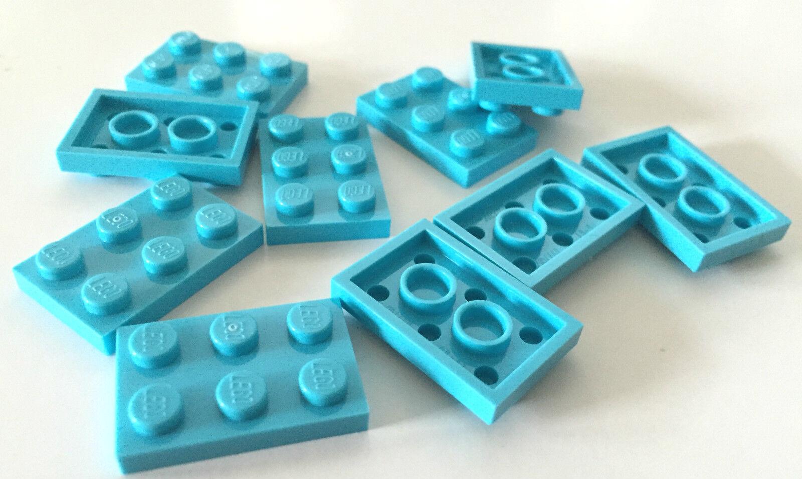 Lego Plate Slash 2x3 NEW GREY 2186