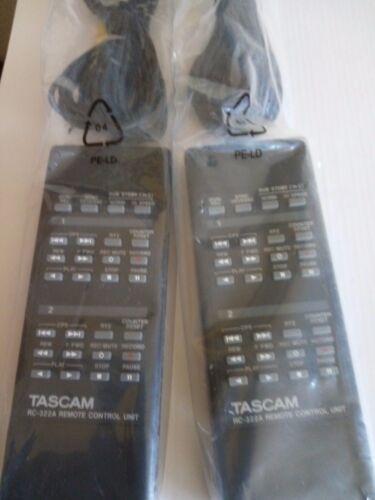 TASCAM RC-322A Original Cassette Deck 322 Remote Control 2721