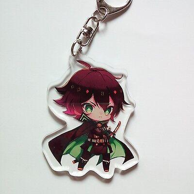 Owari no Seraph Yuichiro Mikaela Hyakuya Keychain Cool Gift Seraph of the End