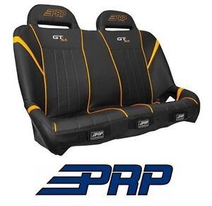 Brilliant Details About Prp Suspension Rear Bench Seat Black Orange 14 18 Polaris Rzr Xp 1000 Turbo Gamerscity Chair Design For Home Gamerscityorg
