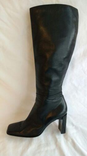 8 d'occasion Weitzman 41 bottes noir cuir hauteur femme taille Stuart 7 7 5 genou O7xpqFq6