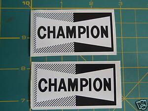 LAMBRETTA OR VESPA SCOOTER CHAMPION B&W DECAL Stickers