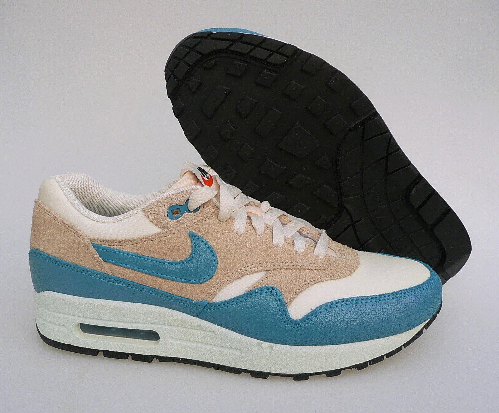 Nike Air Max turquesa 1 vintage cortos zapatos Mesh Antik turquesa Max GR 40 2cbbba