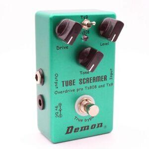 Mosky-demone-ts808-TUBE-SCREAMER-sovraccarico-PRO-VINTAGE-Elektor-chitarra-u4h7