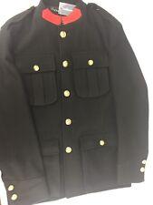 Ralph Lauren Purple Label Lynfield Cadet Jacket Lightweight Melton Black Size M