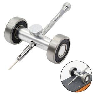 1x-Uhr-Juweliere-Reparatur-Uhrmacher-Werkzeuge-Schraubendreher-Schaerfanleitu