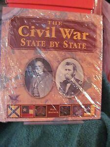 The-Civil-War-State-by-State-by-Paul-Brewer-2004-Hardcover