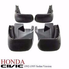1 Set 92-95 Honda Civic 4dr EG9 Sedan FERIO Full Mud Splash Guard Mudflap NEW