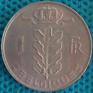 Moneda-Monedas-Belgica-1-Francos-Ref-0260