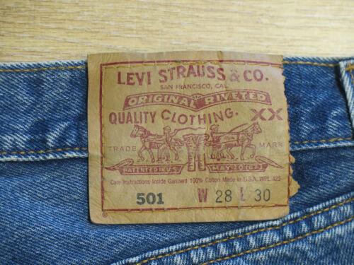 501 di Uk Vintage High Designer Waist Blue blu 8 Denim 501 alta vintage Uk qualità jeans 8 di vintage W28 Pantaloncini Levi W28 Shorts Levi Ux6dUv