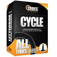 INNER TUBES 10 12 14 16 18 20 24 26 27 28 700 700c BIKE CYCLE SCHRADER PRESTA