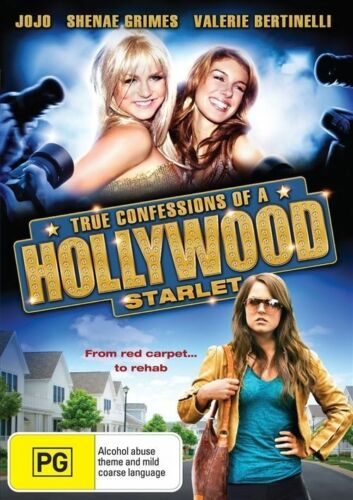 1 of 1 - True Confessions Of A Hollywood Starlet DVD Region 4 (VG Condition)