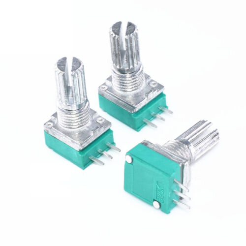 500K RV097N MONO//Stereo Potentiometer Adjustable Resistance For Audio Amplifier
