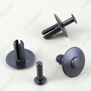 10 x fijación clips spreiznieten parachoques clip para opel y BMW