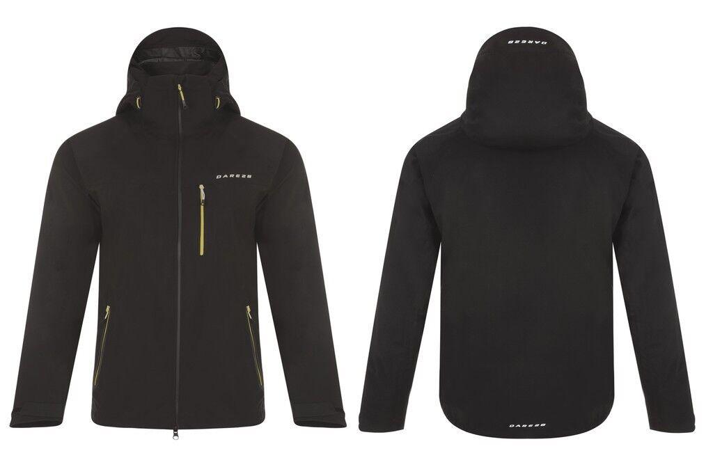 Dare2b vigilancia II negro bicicleta al aire libre de los hombres chaqueta talla XL   DMW389