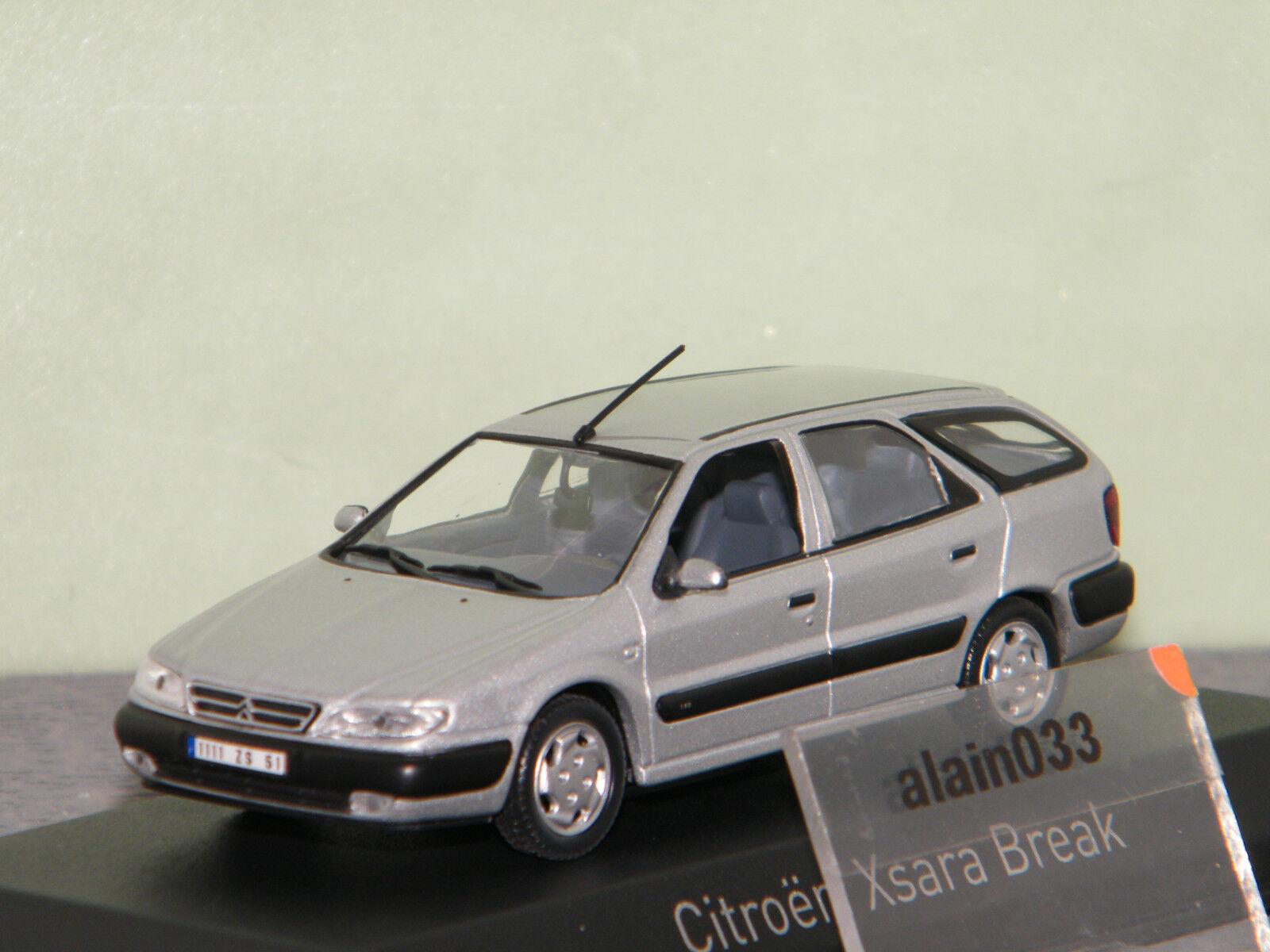 CITROËN XSARA Break 1998 Quartz gris NOREV 1 43 - 154306