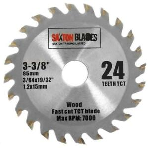 Saxton 85mm x 24t tct circular wood saw blade worx worxsaw bosch image is loading saxton 85mm x 24t tct circular wood saw keyboard keysfo Images