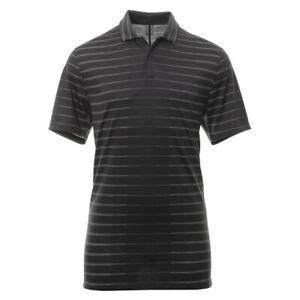 Nike-Golf-Tiger-Woods-Gestreiftes-Polo-Shirt-X-Large-Schwarz-bv0350-010