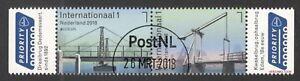 POSTEUROP-NEDERLANDSE-BRUGGEN-2018-serie-gestempeld