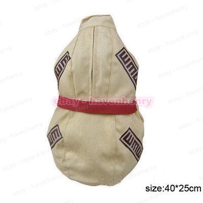 HOT Naruto Ninja Gaara Gourd Backpack PU Leather Crossbody Cosplay Messenger Bag