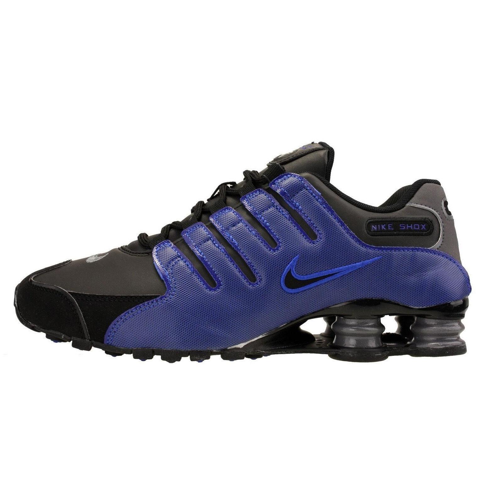 Nike Shox NZ 378341-041 Racer Blue Black Mens Sz 10