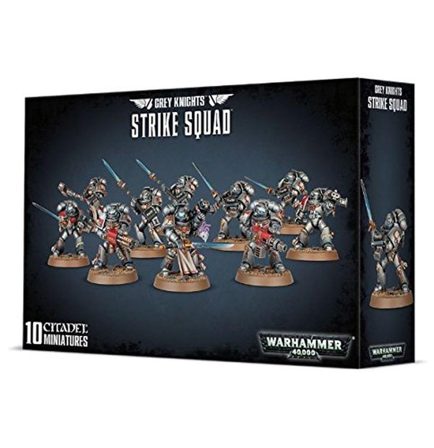 Warhammer 40k - grauen ritter strike team - brand new in box - 57-08