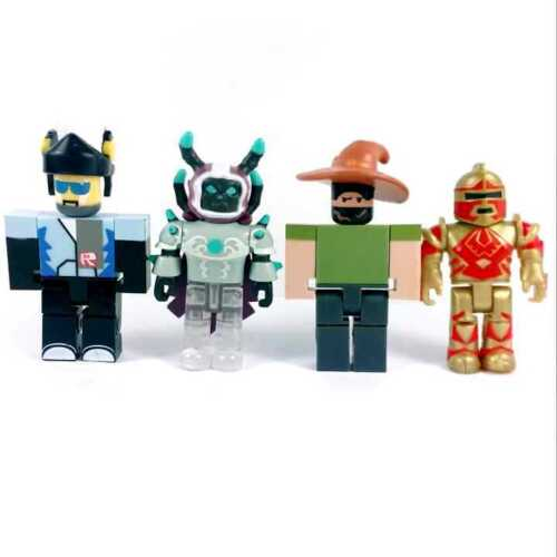 random 10Pcs Roblox game Champions Legends of ROBLOX figure cake topper toys