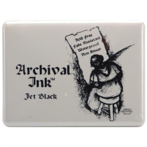 Ranger Archival Jumbo Inkpad #3 Jet Black Pad Ink
