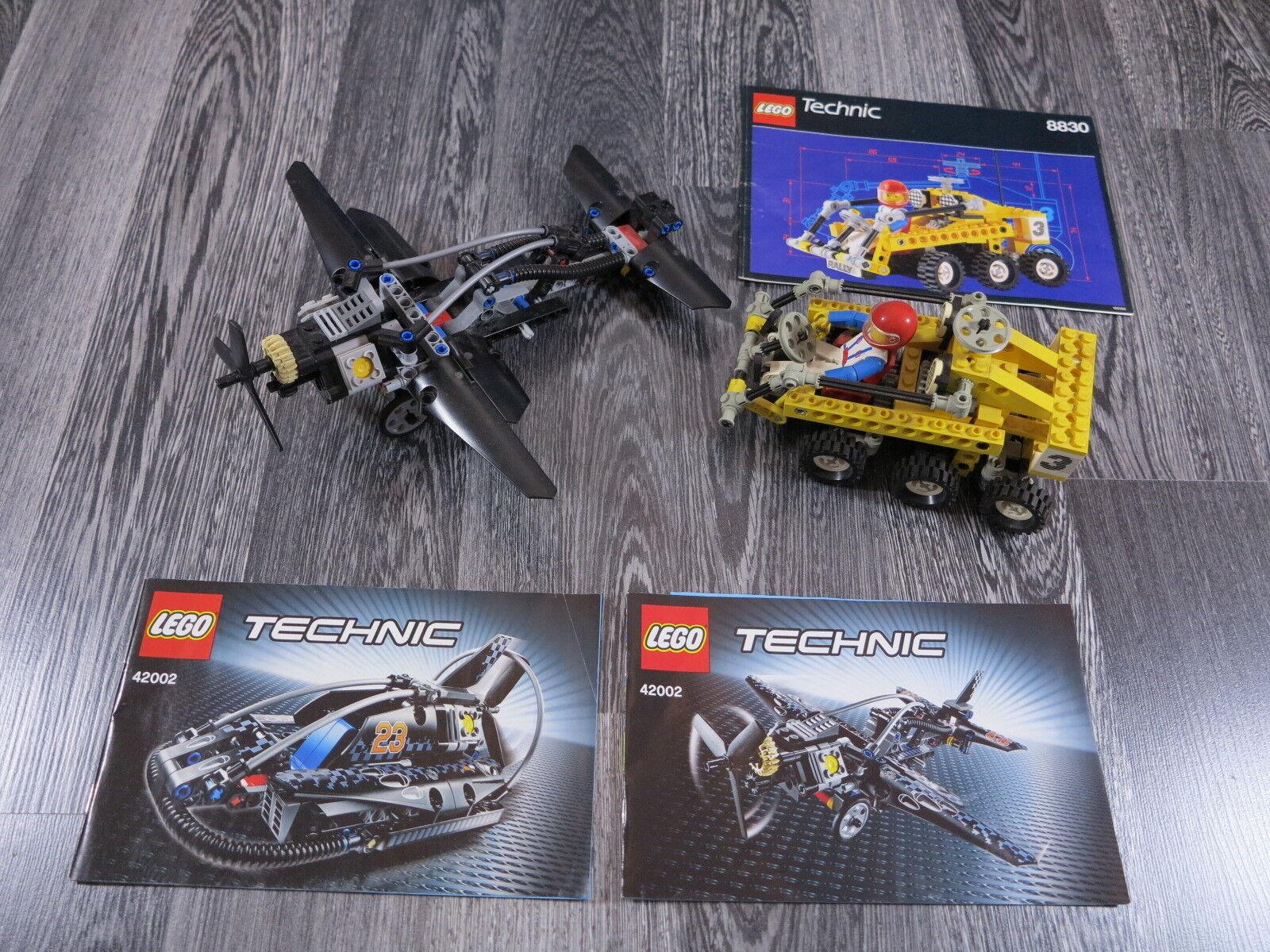 Te Te Te  er un voeu LEGO Technique 42002, 8830 avion, voiture/Chenille/PELLETEUSES 80aea3
