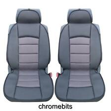 PREMIUM GREY-BLACK COMFORT PADDED SEAT COVERS FOR RENAULT MEGANE LAGUNA CLIO