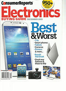 consumer reports electronics buying guide december 2013 best rh ebay com Electronic Dork Best Buy Electronics Department