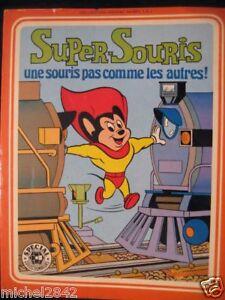 Super Souris Dessin Anime Tv Sagedition 1977 Cartoon Ebay
