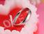 Anello-Coppia-Fedine-Fidanzamento-Amicizia-Amore-Cuore-spezzato-Love-Fedi-Regalo miniatura 5