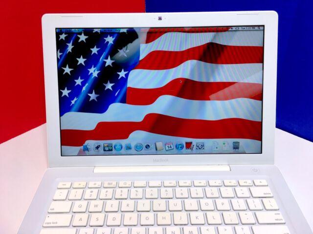 "Apple White MacBook 13"" Mac Laptop Computer / New Battery / 90-Day WARRANTY"