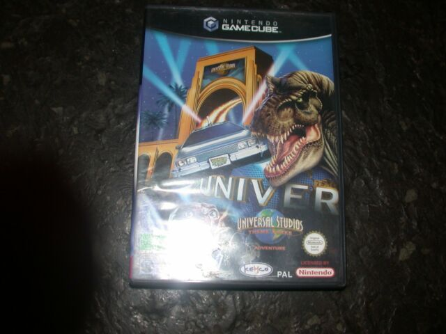 Universal Studios Theme Park Adventure (Nintendo GameCube, 2002, DVD-Box)