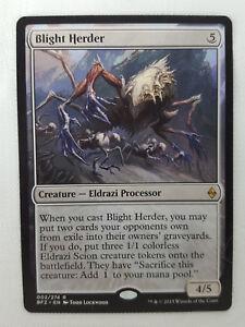 BLIGHT HERDER 002//274 Battle for Zendikar RARE MTG Magic the Gathering