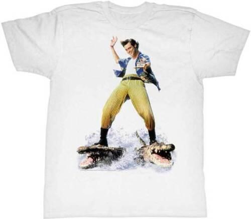 Ace Ventura Pet Detective Crocodile Surfing Adult T Shirt Funny Movie