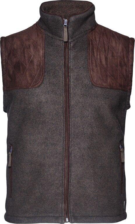 NEW  Seeland Fleece Vest William II - Moose Brown - 130214445